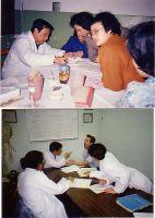 贝医师在上海曙光医院和美国中医大学诊病