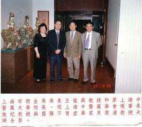 上海市卫生局长合影
